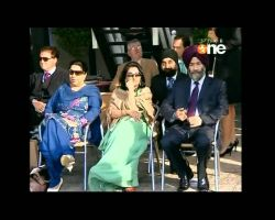 Vic Sethi with HRH at Polo Match